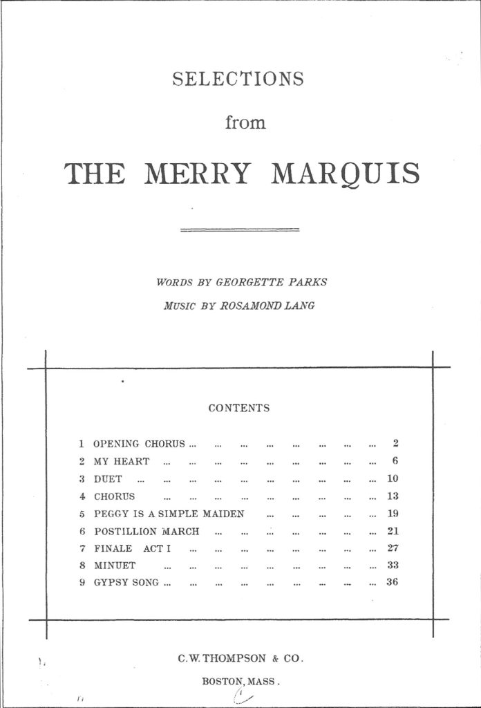 Merry marquis